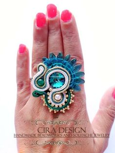 Soutache ring by Cira Design - SOUTACHE 2013