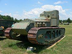 The Medium Mark A Whippet Tank.