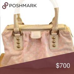 Louis Vuitton spring bag Pink and cream monogram Louis Vuitton Bags Totes