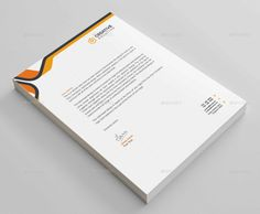 stationery letterhead business corporate letterhead