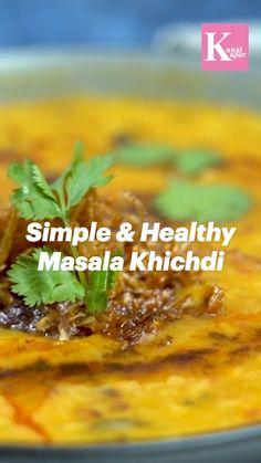Tasty Vegetarian Recipes, Veg Recipes, Spicy Recipes, Curry Recipes, Dinner Recipes, Cooking Recipes, Kunal Kapoor, Chaat Recipe, Indian Dessert Recipes