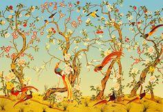Papier peint Pekin (Zuber)