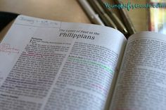 Studying the book of Philippians