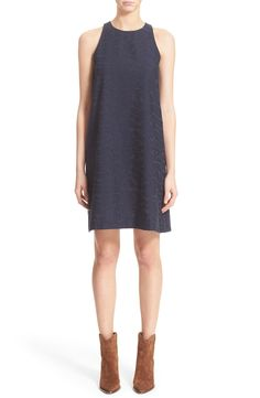 Vince Fil Coupé Sleeveless Shift Dress (Nordstrom Exclusive) available at #Nordstrom