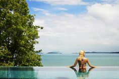 Infinity pool at Point Yamu by COMO #thailand #phuket