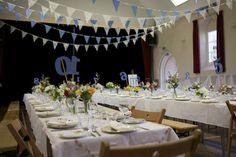 Quirky DIY Cornish Village Hall Wedding