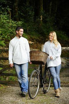 Irish flannel Grandad shirts