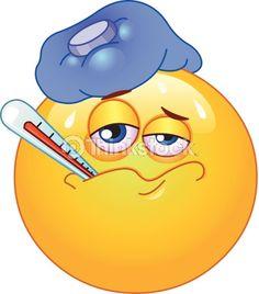 I can't be sick! If I'm sick, I can't graduate on Friday! :(