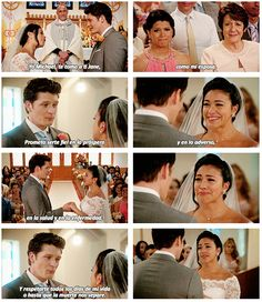 "Gotta be honest, might not even have seen all of Michael saying his vows in Spanish because the tears got in the way. | 17 Times ""Jane The Virgin"" Made You Feel All The Things"