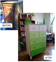 dresser makeovers - doing this for little one's room. Painting over what I did to dresser for the boy's room!