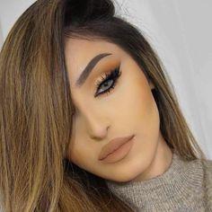 Makeup Eye Looks, Dark Makeup, Cute Makeup, Eyeshadow Looks, Eyeshadow Palette, Eyeshadows, Makeup Tips, Beauty Makeup, Hair Beauty