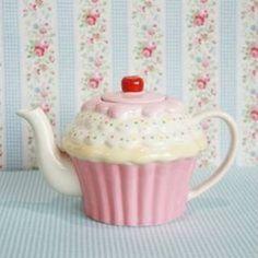 Cozinha Shabby Chic, Bistro Design, Tout Rose, Tee Set, Teapots Unique, Cute Kitchen, Tea Pot Set, Teapots And Cups, Ceramic Teapots