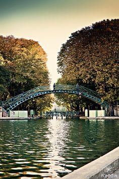 Paris unknown - Canal Saint Martin #Paris