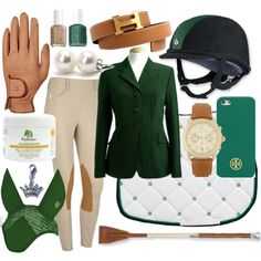 Green & Gold show outfit