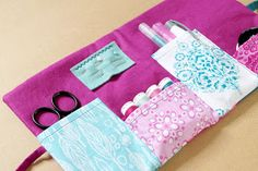 Christelle Beneytout : le blog: The sewing pocket - Dovetail Michael Miller Fabrics