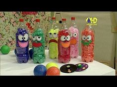 sabor de vida artesanatos boliche por professor sass 06 de julho de 2014 Nursery Activities, Toddler Activities, Preschool Activities, Fall Crafts For Kids, Diy For Kids, Fun Crafts, Sensory Bottles For Toddlers, Pinterest Crafts, Busy Boards For Toddlers