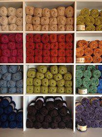 Beautiful wool in Wüto  Antigua Gustemala