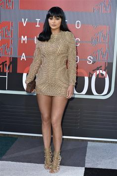 Kylie Jenner attends the 2015 MTV Video Music Awards in Los Angeles on Aug. 30, 2015.