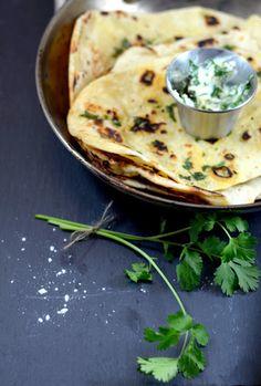 naan and garlic naan — A Brown Table