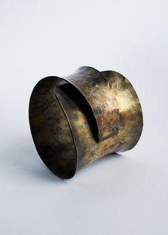 1st forged bracelet :) by 3 dots, via Flickr