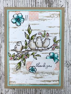 Caring for Stamps: Vintage Friday # 135: Catalog Countdown # 10 ~ Free as a Bird stamp set