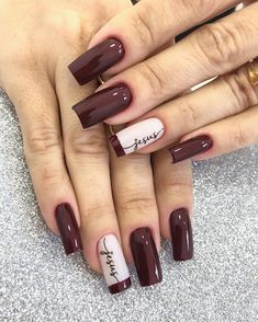 30 Most Popular Nail Art Design 2019 Nail art design is a critical portion of a manicure regimen. You don't have to sulk if you've got short nails ladies! Water marbling nails art ideas isn't a struggle, although it can be a bit messy. Latest Nail Designs, Simple Nail Art Designs, Best Nail Art Designs, Latest Nail Art, French Manicure Nails, Manicure And Pedicure, Diy Nails, Cute Nails, Manicure Ideas