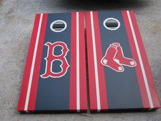 Boston Red Sox Custom Cornhole Boards. $175.00, Brandon Patton.