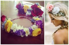 Craft a DIY flower crown in 6 easy steps