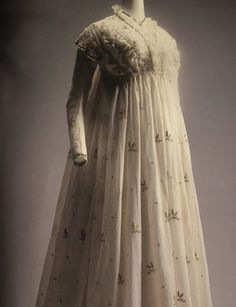 Delicate Morning Dress Morning Dress, Historical Clothing, Regency, Delicate, Statue, Clothes, Dresses, Fashion, Outfits