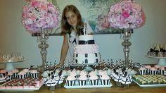 Maria Antonieta Cupcakes: Festa tema Paris