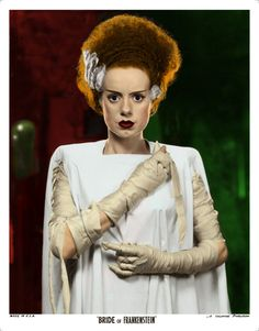 BRIDE OF FRANKENSTEIN (1935) hopefully this will be my costume next year!
