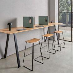 Contemporary Furniture, Contemporary Design, Desk Dividers, Corner Desk, Furniture Design, Public Spaces, Tao, Hospitality, Designers