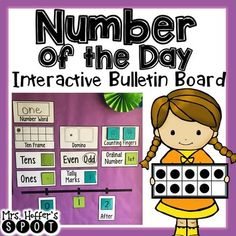 I love building my students number sense with our daily Number of the Day. This interactive Bulletin Board can be whatever you need it to be. Included in this packet is the numbers 0-20. There is: Number Words, Numeral, Counting Fingers, Dice, Domino, Base Tens Blocks, Even/Odd, Tally Marks, Ordinal Numbers, Before/After, and Ten Frames.