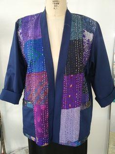 Silk Kimono, Roll Up Sleeves, Blue Tie Dye, Line Jackets, Casual Elegance, Poplin Fabric, Colored Jeans, Blues, Ships