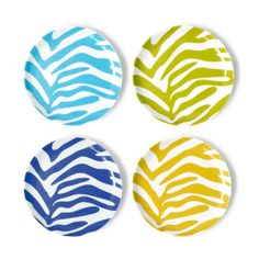 zebra coasters - (i think i've got something for zebras today)