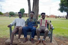 20 years of democracy: By focusing on themselves as subjects, ISADY is able to portray a normalcy to township life, a sense that people are thriving in Africa, and a beauty that is inviting. Feature Article, Dandy, Different, 20 Years, African Fashion, Lions, South Africa, Hipster, Mens Fashion