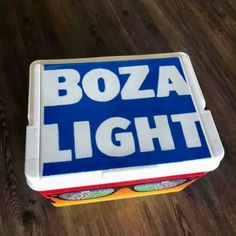 COOLERSbyU Painted Cooler Examples | Bud Light Cooler Lid | Tags: bud light, beer, cooler, lid Painted Coolers, Fraternity Coolers, Cooler Painting, Painting Inspiration, Tags, Mailing Labels