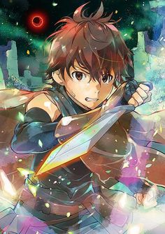 - Hai to Gensou no Grimgar - It's so pretty, like watercolor. The anime is pretty too