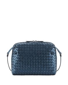 Bottega Veneta Veneta Small Woven Messenger Bag 9a3b52197fe78