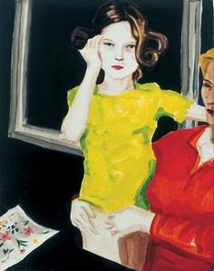 Elizabeth Peyton Contemporary American painter who does mostly stylized portraits.