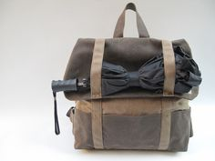 The Cooper Backpack- Pansy Maiden (made in USA, vegan)