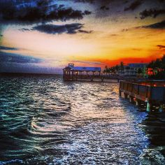 A spectacular sunset in Key West, #Florida. Photo courtesy of eachapman4 on Instagram.