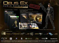 Deus Ex Human Revolution Collector's Edition