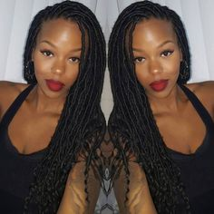 Thin Curly Faux Locs