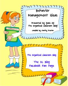 Behavior Mgmt eBook ~ Re-pinned by Total Education Solutions.  Check out the rest of our School Resources and Therapy pins @ http://pinterest.com/totaleducation