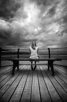 Solitude - Alone- Storm Princess by Jon Swainson Foto Art, Black And White Pictures, Belle Photo, Black And White Photography, Monochrome, Art Photography, Loneliness Photography, Solitude, In This Moment