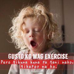 Credits to Medyo Maldito Bisaya Quotes, Random Quotes, Hugot, Funny Qoutes, Tagalog, Creative Photos, Exercises, Memes, Canteen