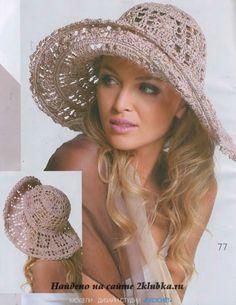 Uncinetto d'oro: cappello