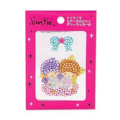【2011】【Vivitix】Sticker (¥735, 8×7×0.5cm) ★Little Twin Stars★