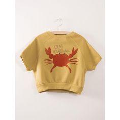 Bobo Choses Crab Your Hands SS Sweatshirt